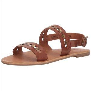 Frye Ally 2 Band Hammered Stud Sling Sandal